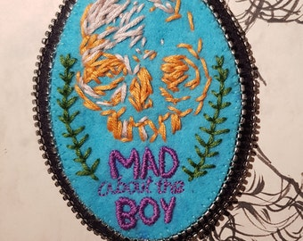 Mad About the Boy Skull Patch