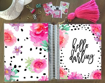 Original Stylish Planner™ Cover - Floral Planner Cover: for use with Erin Condren Life Planner(TM), Happy Planner and Recollections Planner