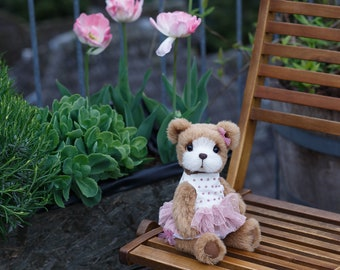 Artist collectible Teddy bear Misty(OOAK)