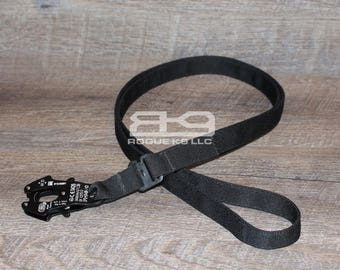 8-ft Tactical Mil-Spec Adjustable FROG Leash handmade by Rogue K9