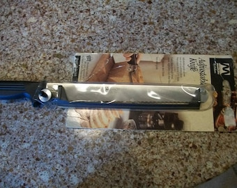 Vintage Montana Adjustable Knife New in Package Italian Crafted