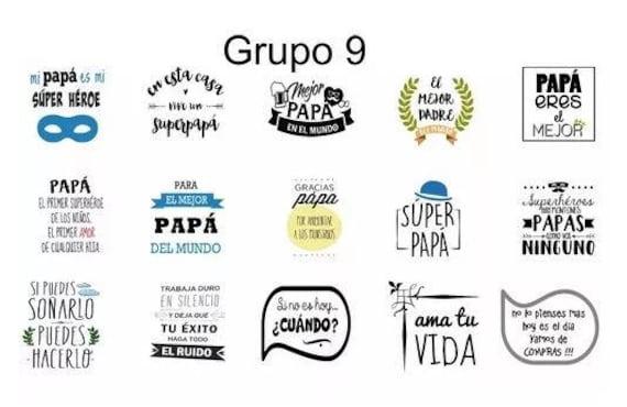 Vinyl Designs Vectores Diseños Frases Para Frascos Grupo 9
