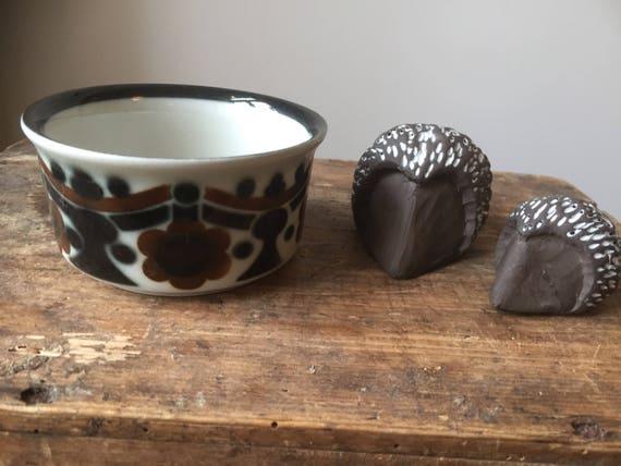 Sugar bowl/arabia/Riikka/Finnish design Anja Jaatinen-Winquist/1970s