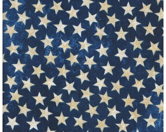 Stars And Stripes~Stars On Blue 39101-49 Cotton Fabric By Northcott