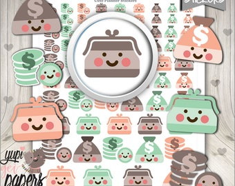 Payday Stickers, Planner Stickers, Printable Planner Stickers, Pay day Stickers, Money Sticker, Planner Accessories, Salary Sticker