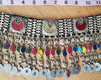 Ornate Colorful Kuchi Choker 2