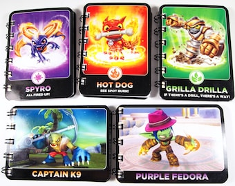 20 Upcycled Skylanders cards - Skylanders Party Favors - Skylanders Favors - Skylanders Birthday Party - Recycled Skylanders Cards -