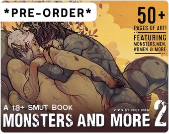 Coey: PHYSICAL COPY, Monsters & More 2 (PREORDER), Mature Artbook