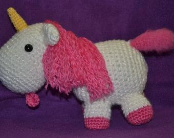 Pinky the Amigurumi Unicorn - PDF