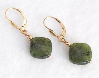 Green Jade earrings   Green Jade meaning   Green Jade jewelry   Green Jade stone   Green earrings   Jade and Gold jewelry