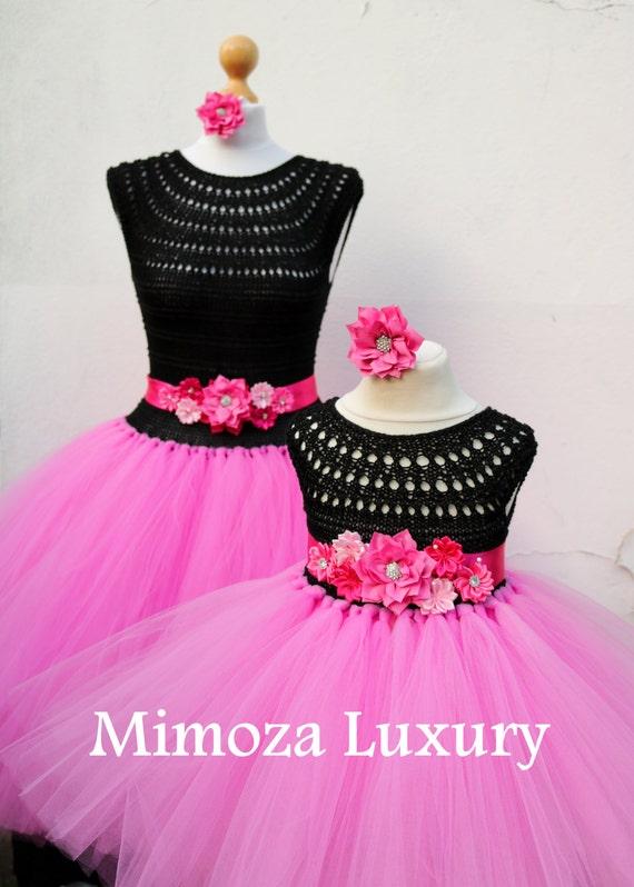 Mother Daughter Matching Dresses Adult tutu dress, Birthday dresses, Women tutu dress, Wedding dress, Hen party dress, Adult Princess dress