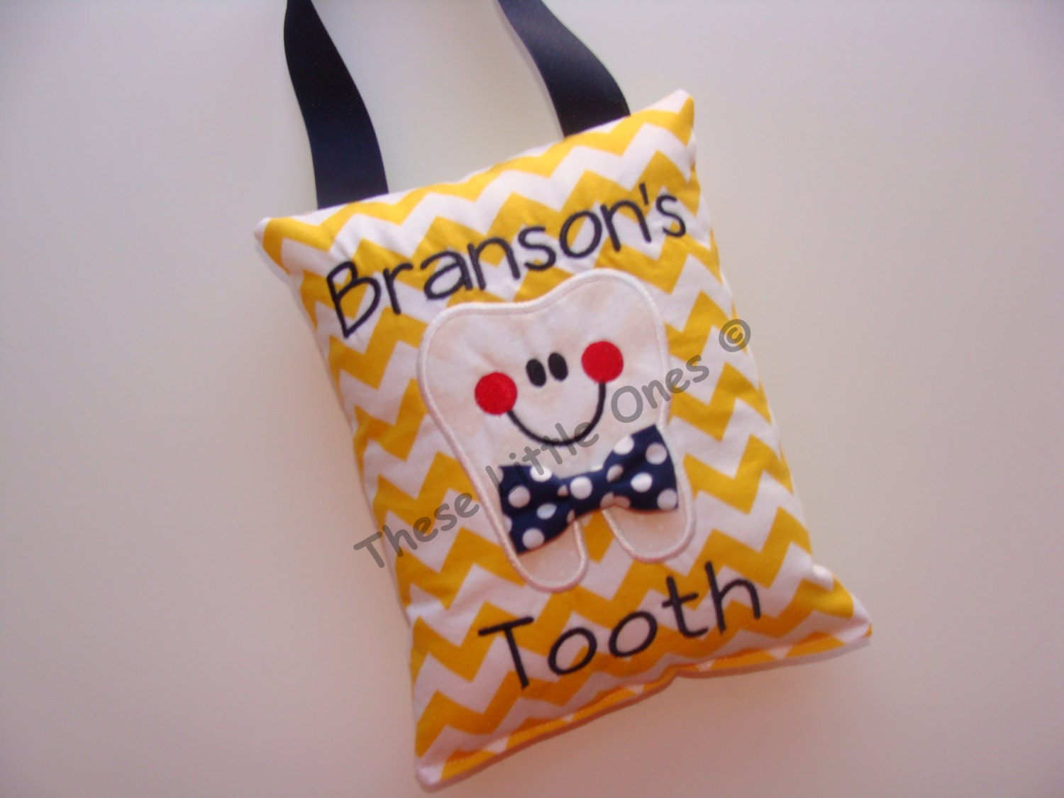 Personalized Tooth Fairy Pillow Door Hanger With Pocket In