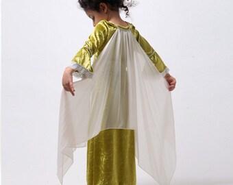 Medieval Dress, Medieval Costumes, Renaissance Dress, Velvet Dress, Renaissance Faire Clothing, Halloween Costumes for Kids, Ren Faire Dress