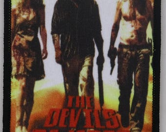 The Devil's Rejects - Color PATCH HORROR movie - Rob Zombie Sid Haig Devils captain spaulding