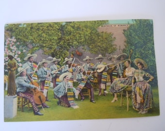 Serenade of Romance Postcard Colourpicture Publication