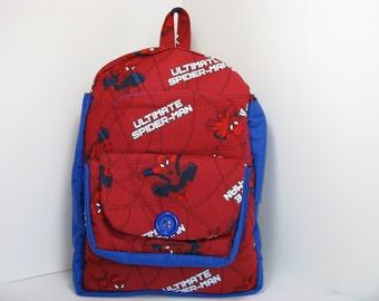 Ultimate Spider Man Preschool Backpack