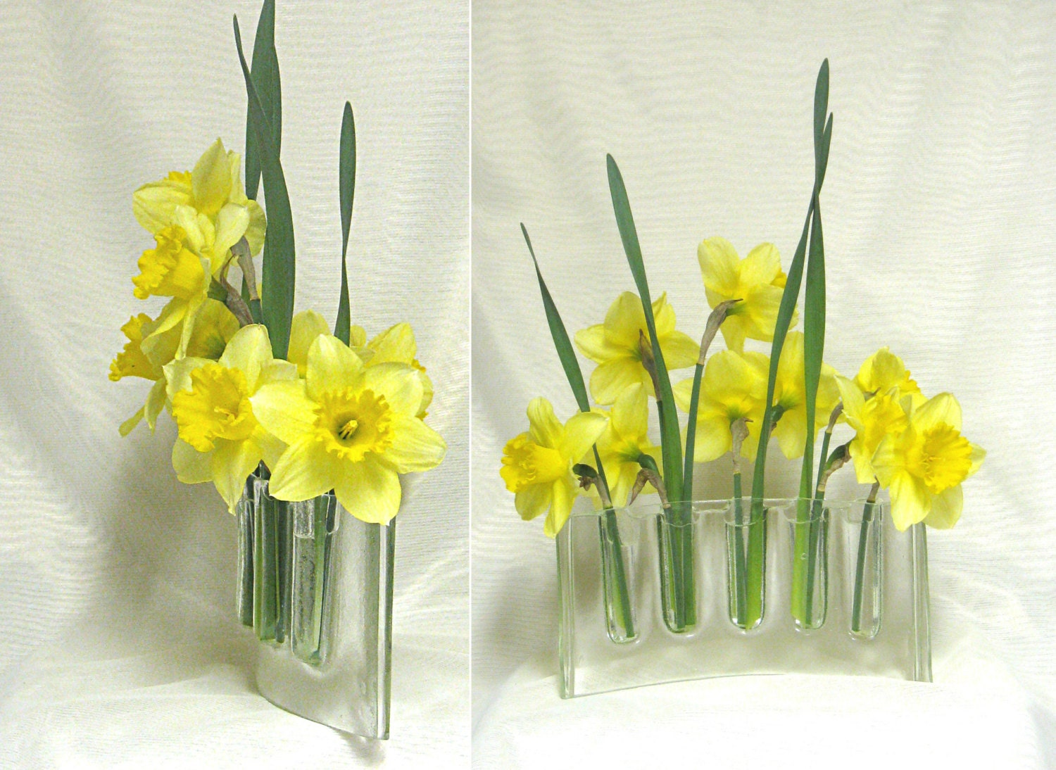 Curved clear glass vase glass vases flower arranging fresh zoom reviewsmspy