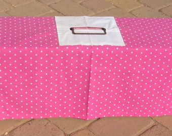 Cover for Tru Catch 30LTD Traps: Pink with White Polka Dots Pattern