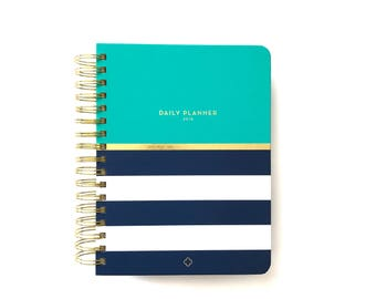 2018 Anchored Press Daily Devotional Planner - Oceana Aqua