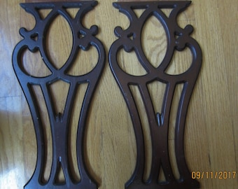 Antique Vintage Chair Backs 4 Only