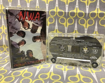 Straight Outta Compton by NWA Cassette Tape rap hip hop