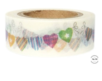 Washi Tape GARLAND HEARTS