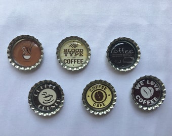 Coffee Kitchen Decorative Magnet Set