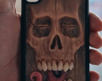 Sale-25% Example all Iphone, Samsung S9, S8, S8+,hard case, hand sculpted, OOAK (one of a kind)