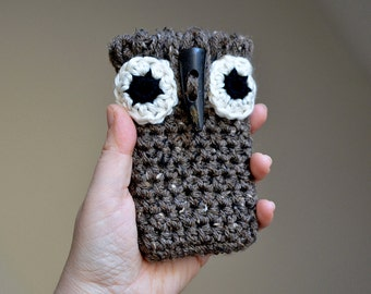 Crochet Pattern, Owl Phone Case Pattern, Crochet Phone Case Pattern, Owl Crochet Pattern, Crochet Owl Pattern, Owl iPhone Case Pattern