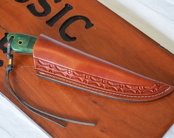 Hand Made Leather Knife Sheath