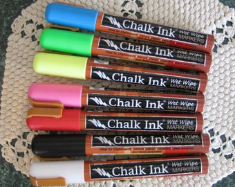 Chalk Ink Marker for Blackboard -Dry Erase Vinyl Items