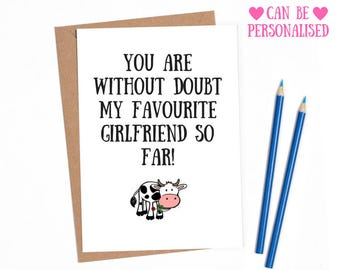 Valentines day card girlfriend, funny valentines card for her, Lesbian valentines card,Valentines card girlfriend, funny valentine card,