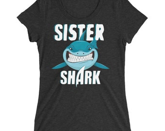 Sister Shirt - Sister Shark - Shark Shirt - Shark - Shark Birthday - Shark Week - Sharks - Shark Tshirt - Shark Birthday Shirt - Shark Party