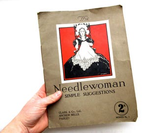 Vintage The Needlewoman Simple Suggestions Magazine Series No. 1