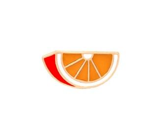 Badges orange vitamin c.
