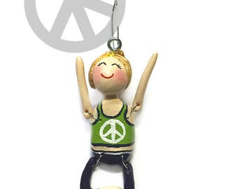 Namaste Collection:  Joy (Ornament) - Tree Pose - CAN BE PERSONALIZED w/ Add-On Option