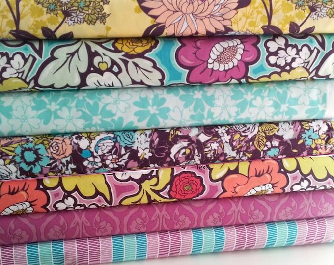 1/2 yard bundle of 7, Bespoken by Art Gallery Fabrics