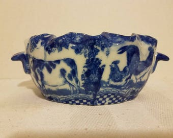 China Blue Fine Porcelain Exclusively for Seymour Mann