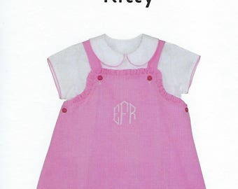 Children's Corner Sewing Pattern #262 / KITTY / Sizes 1 - 6