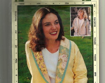 Favorite Things The Shawl Jacket-Patched Pattern V007