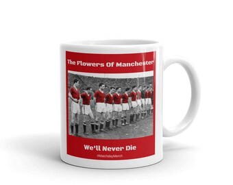 Busby Babes - The Flowers of Manchester Mug