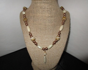 Dark Gold Necklace