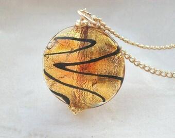 Sale, Murano Glass Necklace