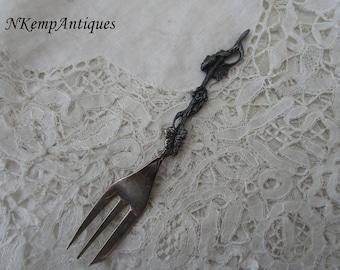 Antique cake fork