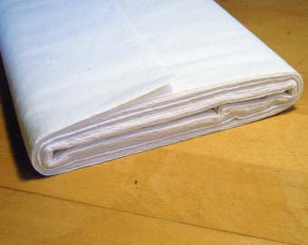 Fusible fabric stabilizer - Fusible interfacing - Permanent stabilizer - Calico - Iron-on interfacing - Easy sewing