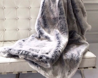 The Tissavel Faux Fur Throw