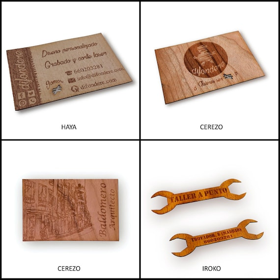 Custom wood business cards wood engraving wooden cards colourmoves
