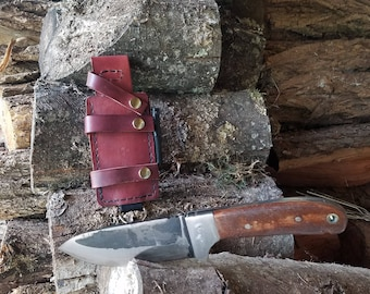 Full Tang Drop Point Knife