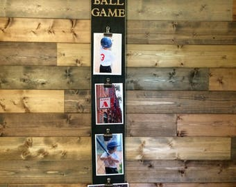 """Pallet Wood Photo Display """"Take me out to the Ball Game"""""""