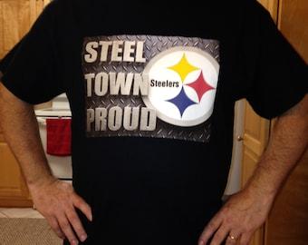 Steel Town Proud tee shirt